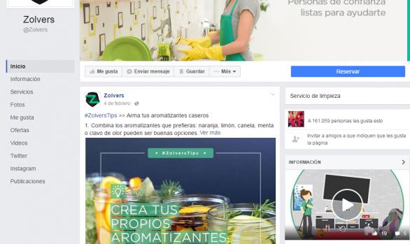 Facebook -Zolvers-