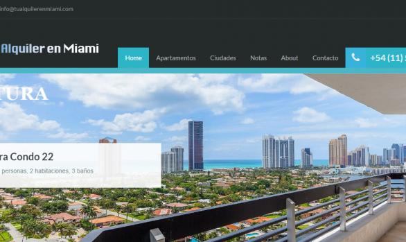 Sitio Web - Tu Alquiler en Miami-