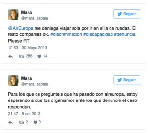 AirEuropa crisis en Redes Sociales